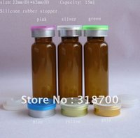 amber tubing - 15ml amber tubing glass vial with silicone stopper flip off cap sample vial ml ml ml till ml is available