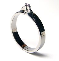 Cheap Hot Sale Stainless steel Chastity Cage Cock Rings 38mm 41.3mm 44.4mm 47.6mm 50.8mm