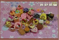 Wholesale Diy Doll House Accessories And Artificial Cake Dollhouse Model Many mini cakes play resin delicate food