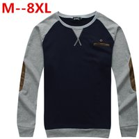 big guys clothes - plus size XL XL XL XL Brand Quality Men s T Shirt Long Sleeve Big Guy Tops Tees Male Printing Large T Shirt Cotton Clothing