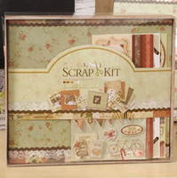 baby girl scrapbook album - 2015 New Diy Photo Album Forever Series Albums for Baby Girl Scrapbooking Kit home decoration scrapbook album de fotos b508