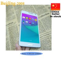 Wholesale 1 Note SM N9100 Quad Core MTK6582 Smart Phone GB RAM GB ROM inch IPS Screen Android WCDMA G Show G Cell Phone