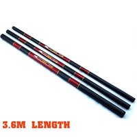 Wholesale 2016 Fighter Telescopic Fishing Rod ChinaRed m Glass Pole Carp Fishing Tackle Shop