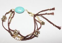 fashion in turkey - New fashion popular in Europe and America Turkey lucky turquoise original hand woven bracelets