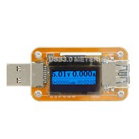 Wholesale KKMOON USB Charger Power Meter Energy Monitor Voltage Current Power Capacity Meter Ammeter Voltmeter with OLED Backlight order lt no tra