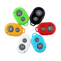 Wholesale Universal Wireless Bluetooth Remote Camera Control Self timer Shutter for Android IOS Phone iPhone S Galaxy S4 Note3 Smart phones