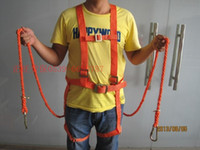 aerial work - Double insurance climbing rope fall protection safety belt Fire safety belt outdoor aerial work safety belt