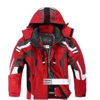 al por mayor chaquetas de los hombres s de las prendas de esquí-Otoño-Negro Gris nuevos hombres a prueba de agua de snowboard de la ropa del esquí chaqueta de la capa del juego de esquí de la chaqueta S M L XL XXL TAMAÑO