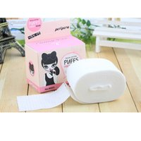 face cleaning wipes - Bag Face Remover Cotton Pad Thin Cosmetic Makeup Tools Facial Cleaning Wipe Skin Care Comfortable Soft LC0086