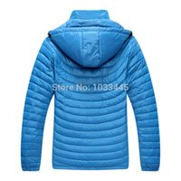 Wholesale New spring amp autumn amp Winter men warm waterproof windproof down jacket outdoor skiing hiking fishing climbing camping