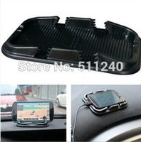 Wholesale Hot sale Car Super Sticky Pad Anti slip Mat for Phone Black