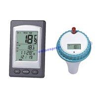 Wholesale New Wireless Digital Swimming Pool SPA Floating Temperature Thermometer higrometro controlador de temperatura with Channels