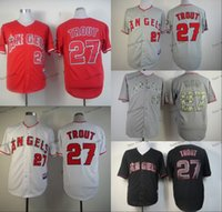 los angeles - los angeles angels mike trout Baseball Jersey Cheap Rugby Jerseys Authentic Stitched Size