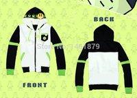 Cheap Wholesale-Anime DRAMAtical Murder DMMd Noiz Warm Coat Sweatshirt Hoodie with Badge Cosplay