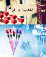 achat en gros de parfaits cadeaux valentine-Valentine # 039; s Day cadeau Rose Pétale Fleur Corps Bain Savons parfait comme faveurs de mariage / cadeaux d'anniversaire ou de décoration 5 Couleurs Fleur Savon Rose Hot