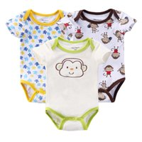 baby girl clothes monkey - Cotton Baby Girl Clothes Body Baby Clothing Sets Monkey Newborn M Bebes Boy Girl Jumpsuits Body Infantil Bebe