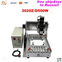 ball screw china - Free ship tax to Russia destop CNC woodworking carving machine Z D500W China ball screw cnc milling machine
