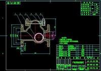 Wholesale BM24 pumping stations hydrostatic bearing drawings Full Machining drawings