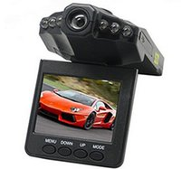 "Wholesale Car Screen Cheap - Hot sale cheap Car DVR Camera 270 Degree Rotated Screen 6 IR LED Night Vision Car Camera Camcorder Video Recorder 1280P 2.5"" Screen"
