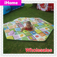 Wholesale Wholsales High Quality Soft and Moistureproof Kids Play Mat for Tents Eco friendly Family games and Children Education Mattress Toy