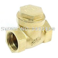 Wholesale Solar Water Heater Part PT1 Female Thread Brass Check Valve A3