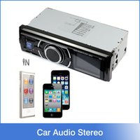 audio automotive - Automotive New Car Audio Stereo In Dash FM Receiver With Phone MP3 Player SD USB Input AUX