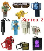 plastic ornament - Minecraft Series generation Plastic Pendant Keychain MC surrounding Coolie fear Keychain Removable Doll ornaments Plastic Pendant Keychain