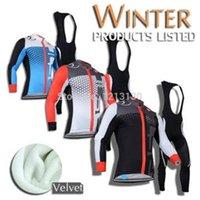Wholesale castelli Cycling Jersey winter thermal fleece long sleeves bib pants set bike jersey cycling clothing maillot ciclismo mtb
