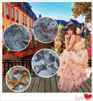 Wholesale Cotton cloth fabric colors really true bohemian dress shirt cotton material yuan m