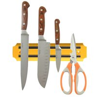 Wholesale Strong Magnetic Knife Tool Rest Shelf For Kitchen Pub Bar Counter Yellow R1BO PTCT