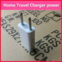 Wholesale Universal EU USA FLAT CUBIC mini USB Wall Adapter plug Home Travel Charger power A V for mobile smartphone s s