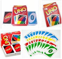 Wholesale UNO Poker Card Family Fun Entermainment Board Game Standard Edition Kids Funny Puzzle Game Christmas Gifts Dhgate New