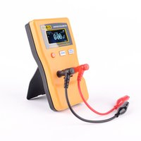 Wholesale New Arrival M6013 ESR High Precision LCD Capacitor Meter Professional Measuring Capacitance Resistance Capacitor Circuit Tester E0915