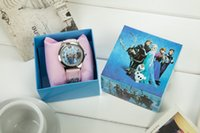 antique toy box - 2014 Hot Frozen Elsa Anna Children watches and Cartoon watches Party Gifts With Retail Box Kids Toys Anna Elsa Quartz Watch Christmas Gift