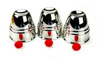 big kid cup - Cups and Balls Magic plastic sliver color coated Classic Cups Gimmick Close Up Magic Trick