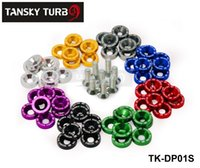 Wholesale Tansky JDM Style Fender Washers Bumper Washer Lisence Plate Bolts Kits for CIVIC ACCORD TK DP01S High Quality