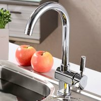 bathroom pass - bathroom kitchen faucet flat three pass intercooled tap can rotate the vegetable washing basin faucet