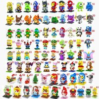 Wholesale 81 Styles LOZ D puzzle building blocks Diamond blocks The Avengers Ninja turtle Despicable Me intelligence educational toys for kids gifts