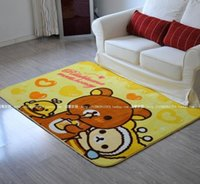 bearing grinding - Anti Bacteria Soft ground mat for Babies Cute Bear carpet in yellow color home decoration