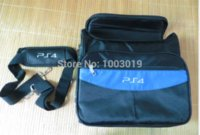 Wholesale 6pcs Fine Workmanship Travel Carrying Case Shoulder Bag for Playstation4 PS4 Game Consoles With Retail Packing