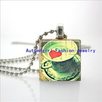 beautiful glass tile - 2015 New I Love Coffee Necklace Life Is Beautiful Personalized Jewelry Scrabble Tile Necklace E