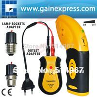 Wholesale Circuit Breaker Fuse Control Locator Electric Finder Tool Receiver Transmitter Lamp Socket amp Outlet Adapters Testers V V
