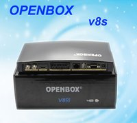 Wholesale HOT Openbox V8S dvb s Digital Satellite Receiver Support WEBTV Biss Key x USB Slot USB Wifi G Youtube Youporn CCCAMD NEWCAMD
