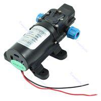 großhandel water pressure pump-DC 12V 60W Hochdruck-Micro-Membranwasserpumpe Automatic Switch 5L / min Mikroauto-Hochdruck-Wasserpumpenmembran