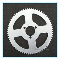 atv sprockets - 68 teeth H Couronne Factory Price for Electric mini ATV Quadsetc rear sprocket teeth for H chain