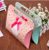 Wholesale New Arrival Wedding Gift Favor Boxes Candy Boxes Wedding Favor Box Paper Box colors