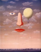 art relations - Decorative Art abstract The beautiful relations Reproduction Rene Magritte oil painting Canvas High quality Hand painted