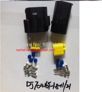 automotive oxygen sensors - DJ70416Y oxygen sensor connector plug Automotive Automotive waterproof connector car plug P mm terminal