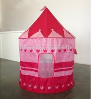 Wholesale Children tent Prince Princess Castle tent children play house toys for children to play the game room baby