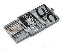 Wholesale Compact Home Tool Kit Set Case screwdriver Tweezer nose Plier Multi Function NEW
